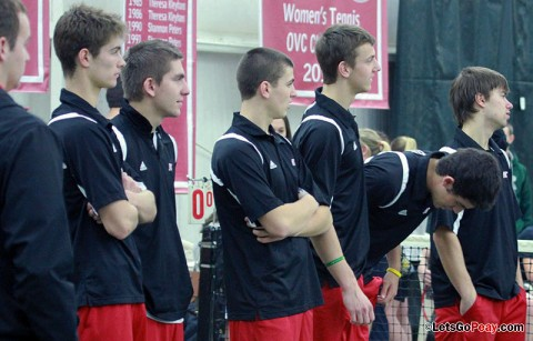 APSU Men's Tennis. (Courtesy: Brittney Sparn/APSU Sports Information)