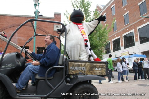 News Channel 4's Snowbird the Founding Grand Marshal