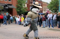 Ramble the Racoon, the Offical Mascot of Tennessee State Parks