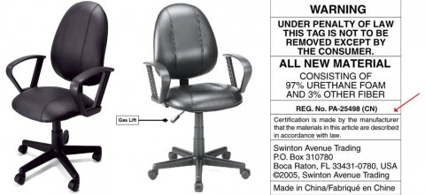 Office Depot recalls Biella Leather Desk Chairs due to fall hazard.