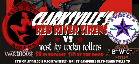"Red River Sirens Roller Derby Presents ""Rockabilly Rink Riot"""