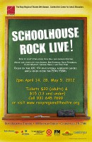 Schoolhouse Rock Live! at the Roxy!