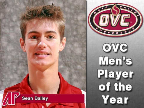 Sean Bailey - OVC Mens Player of the Year