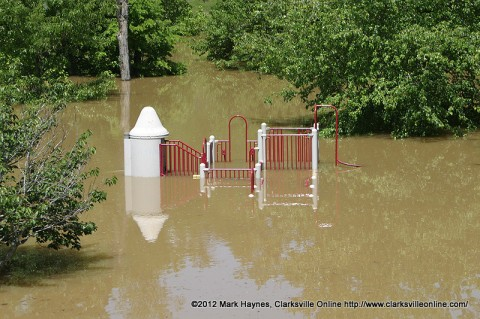 Valleybrook Park was completely submerged during the flood of 2010.