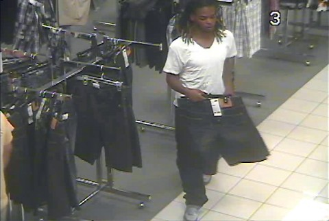Troy Devon Tyson in the store.