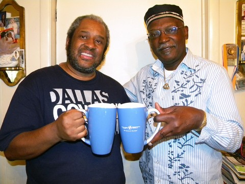 Pictured from left to right: Terry McMoore Media Coordinator, Coffee Party of Clarksville, TN, Ivan Roberts Team Leader, Coffee Party of Clarksville, TN.