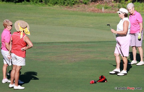 15th Annual Ladies Golf Tournament. (Courtesy: Brittney Sparn/APSU Sports Information)