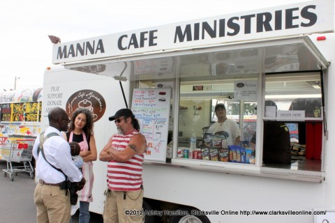 Manna Café Ministries' mobile kitchen.