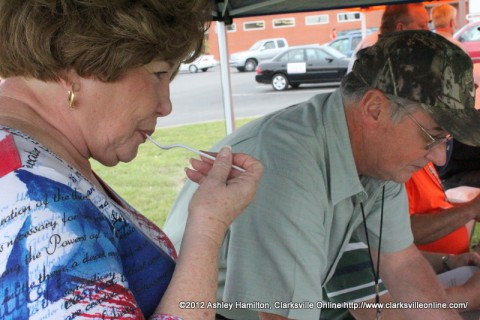 Montgomery County Mayor Carolyn Bowers was one of the judges.