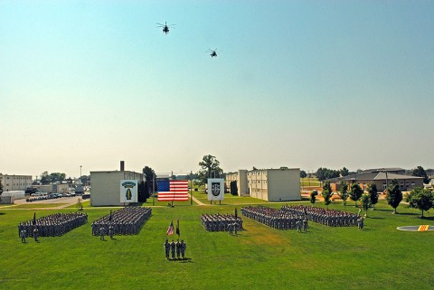 5th Special Forces Group on Gabriel Field honoring their fallen brothers during a Memorial Ceremony May 19th.