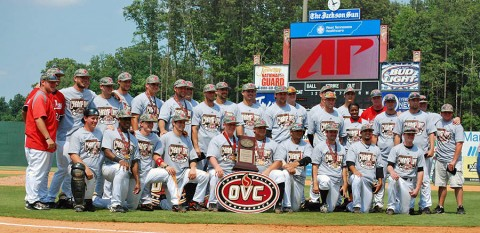 Austin Peay State University Governors are the 2012 OVC Baseball Champions. Austin Peay Baseball. (Courtesy: Olivia Westover)