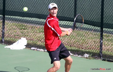 Austin Peay Mens Tennis' Sean Bailey. (Courtesy: Austin Peay Sports Information)