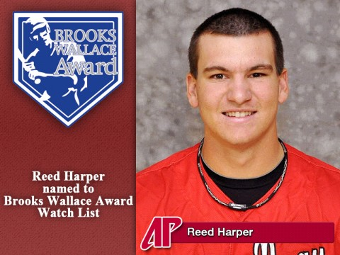Austin Peay Governors Baseball's Reed Harper named to Brooks Wallace Award Watch List
