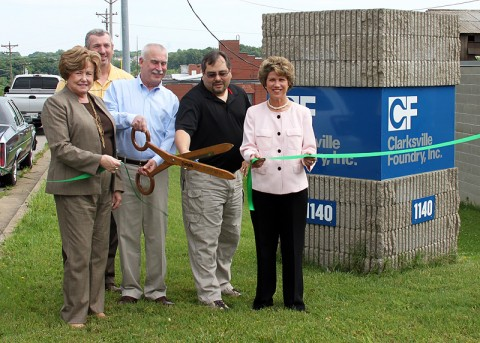 Clarksville Foundry becomes Clarksville-Montgomery County Green Certified