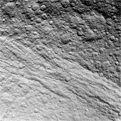 This raw, unprocessed image was taken by NASA's Cassini spacecraft on May 20th, 2012. The camera was pointing toward Tethys at approximately 37,196 miles (59,861 kilometers) away. (Image Credit: NASA/JPL/Space Science Institute)