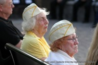Gold Star Wives listening to Van Stokes Speech