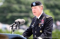 Maj. Gen. James C. McConnell, the Commander of the 101st Airborne Division (Air Assault)