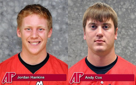 Jordan Hankins and Andy Cox