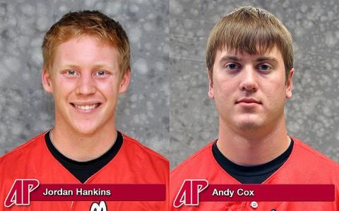 Jordan Hankins and Andy Cox