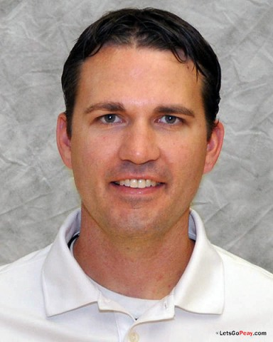 APSU Men's Basketball assistant coach Scott Combs