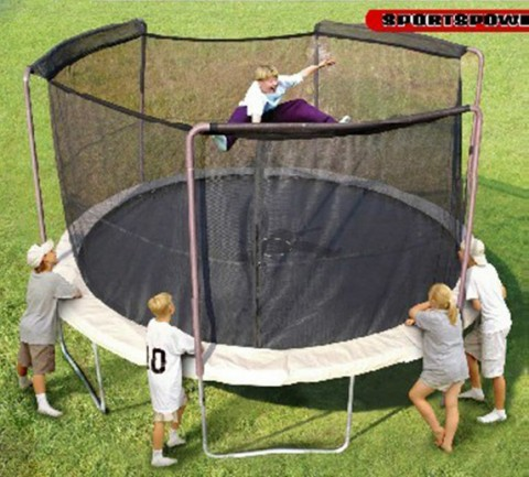 Trampolines Sold Exclusively at Walmart Recalled by Sportspower Limited.