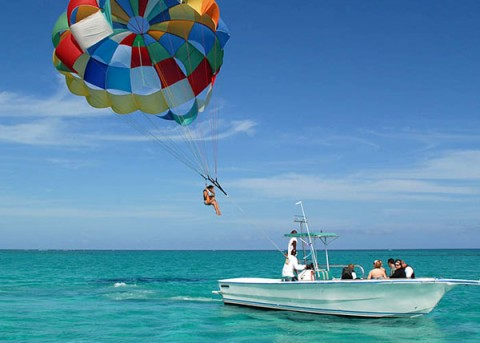 Is Parasailing ...