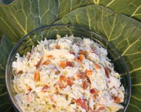 Blue Cheese and Bacon Coleslaw