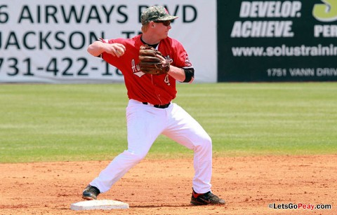 APSU Governors second baseman Jordan Hankins will play in the Cape Cod Baseball League this summer. (Courtesy: Austin Peay Sports Information)