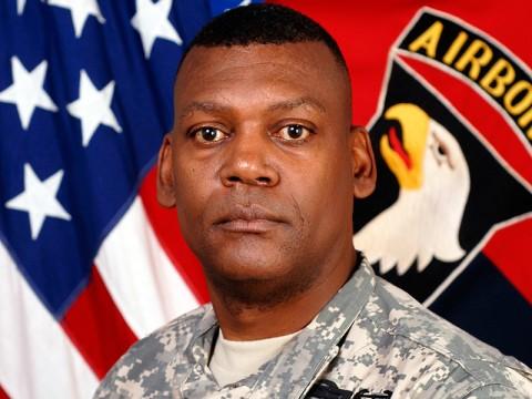 Command Sgt. Maj. Alonzo J. Smith