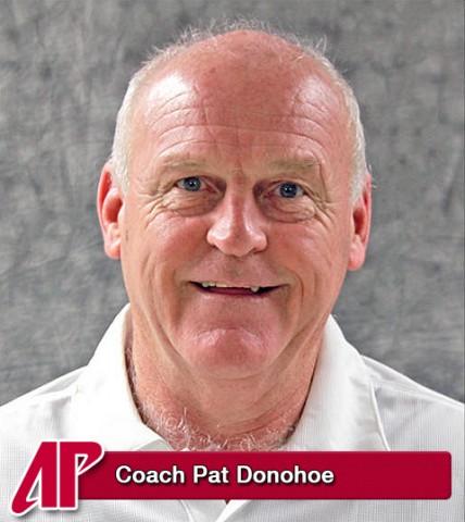 Coach Pat Donohoe