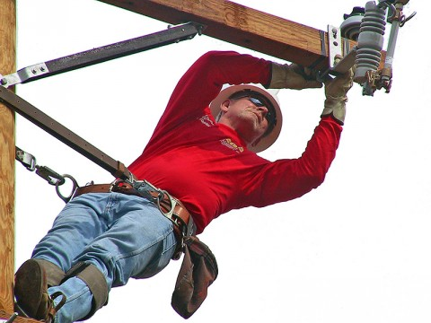 2012 Tennessee Valley Lineman Rodeo at McGregor Park
