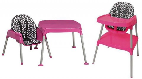 Convertible High Chairs recalled by Evenflo due to Fall Hazard