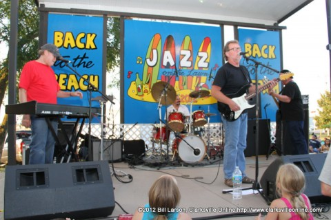 Jim Gibson and his band