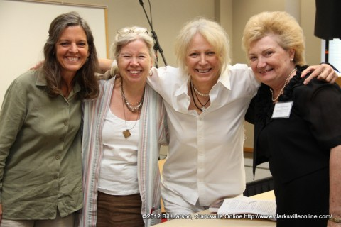 Shelia Kennedy, Taylor Emery, Marshall Chapman, and Sue Culverhouse