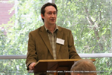 Keven McQueen at the 2012 Clarksville Writer's Conference