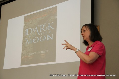 Tracy Barrett at the Clarksville Writers Conference