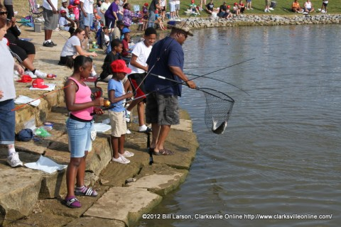 Clarksville's Youth Fishing Rodeo