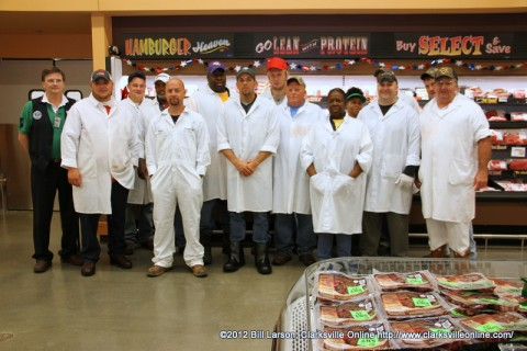 The Meat Department Staff