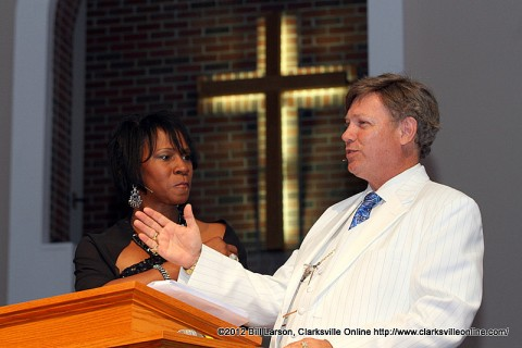 Unity Day Hosts Kevin Kennedy and Yolanda Stewart
