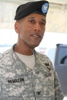 Col. Charles Hamilton, the New Commander of the 101st Sustainment Brigade