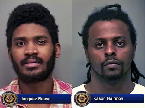 Jacquez Reese and Kason Hairston