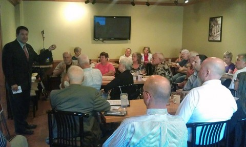 Mark Green addresses the Montgomery County Republican Party