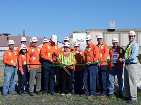 Nyrstar's Clarksville Smelter Green Ribbon Cutting Ceremony