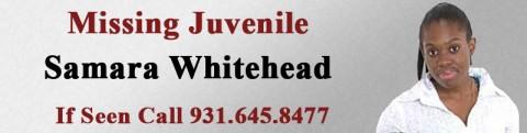 Missing Juvenile Samara Whitehead
