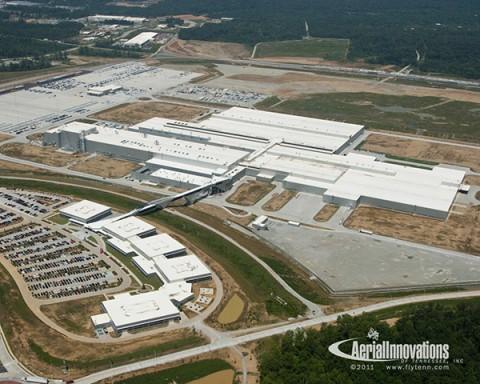 The Volkswagen Chattanooga Plant