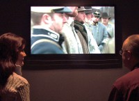 """The award winning video """"Crossroads of Change, Clarksville, Tennessee 1861-1865,"""" airs daily at Fort Defiance Civil War Park and Interpretive Center."""