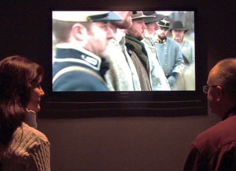 "The award winning video ""Crossroads of Change, Clarksville, Tennessee 1861-1865,"" airs daily at Fort Defiance Civil War Park and Interpretive Center."