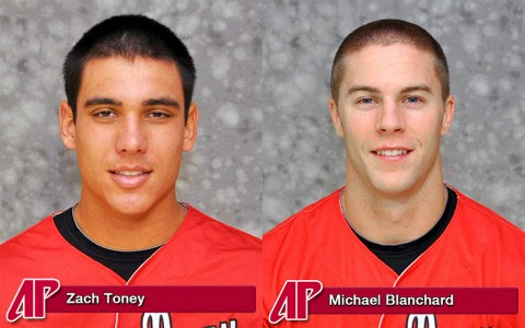 Zach Toney and Michael Blanchard