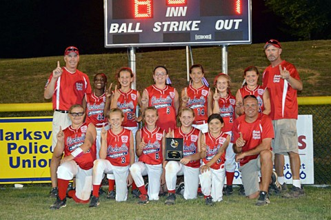 Clarksville National Red are the 2012 District 9 Champions.