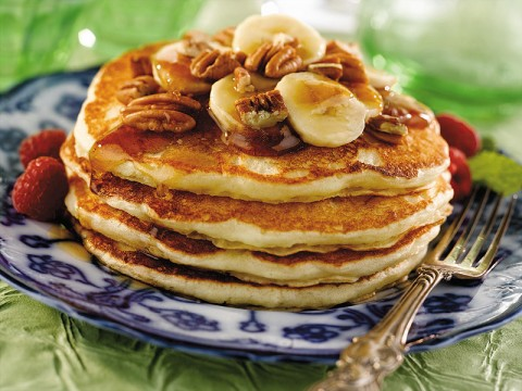 Easy Buttermilk Pancakes